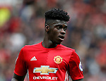Axel Tuanzebe of Manchester United during the English Premier League match at the Old Trafford Stadium, Manchester. Picture date: May 21st 2017. Pic credit should read: Simon Bellis/Sportimage