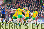 Kieran Donaghy Kerry in action against Ryan McHugh Donegal in Division One of the National Football League at Austin Stack Park Tralee on Sunday.