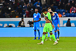 01.12.2018, wirsol Rhein-Neckar-Arena, Sinsheim, GER, 1 FBL, TSG 1899 Hoffenheim vs FC Schalke 04, <br /> <br /> DFL REGULATIONS PROHIBIT ANY USE OF PHOTOGRAPHS AS IMAGE SEQUENCES AND/OR QUASI-VIDEO.<br /> <br /> im Bild: Frust bei Weston McKennie (FC Schalke 04 #2)<br /> <br /> Foto © nordphoto / Fabisch