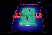 18th March 2018, Arena Birmingham, Birmingham, England; Yonex All England Open Badminton Championships; The Mixed doubles under way