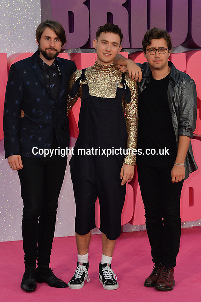 NON EXCLUSIVE PICTURE: MATRIXPICTURES.CO.UK<br /> PLEASE CREDIT ALL USES<br /> <br /> WORLD RIGHTS<br /> <br /> British band Years &amp; Years attends the world premiere of &quot;Bridget Jones's Baby&quot; at Leicester Square in London.<br /> <br /> SEPTEMBER 5th 2016<br /> <br /> REF: JWN 162864