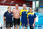 Helena Hammond, David Kennedy, Timmy OSullivan and Shauna O'Shea who participated in the Swimaton in aid of the Irish Cancer Society in the Killarney Sport and Leisure Centre last Saturday