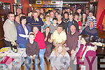 Former Bllybunion batchlor Denis Guerin seated centre celebrated his 40th birthday with family and friends at Browne's bar, Ballyduff on Saturday night.   Copyright Kerry's Eye 2008