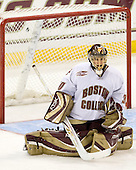Chris Venti (Boston College - 30) - The University of Notre Dame Fighting Irish defeated the Boston College Eagles 4-1 on Friday, November 7, 2008, at Conte Forum in Chestnut Hill, Massachusetts.