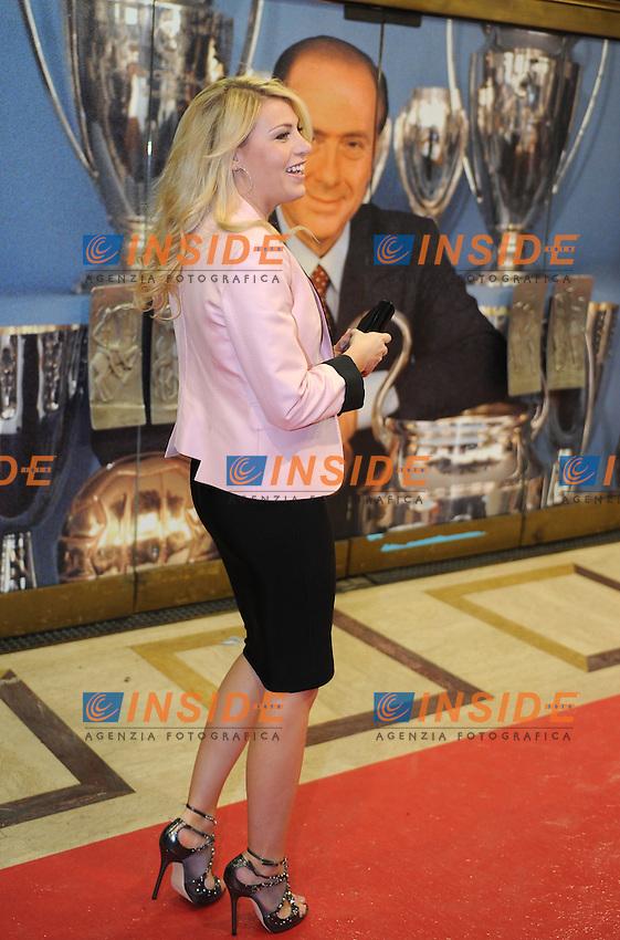 BArbara BERLUSCONI<br /> Milano, 13/03/2011 Teatro Manzoni<br /> 25&deg; anniversario di presidenza Berlusconi al Milan<br /> Campionato Italiano Serie A 2010/2011<br /> Foto Nicolo' Zangirolami Insidefoto