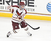 John Doherty (BC - 27) - The Boston College Eagles defeated the visiting Boston University Terriers 6-2 in ACHA play on Sunday, December 4, 2011, at Kelley Rink in Conte Forum in Chestnut Hill, Massachusetts.