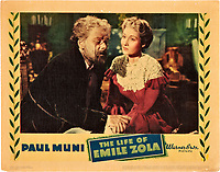 The Life of Emile Zola (1937)<br /> Lobby card<br /> *Filmstill - Editorial Use Only*<br /> CAP/MFS<br /> Image supplied by Capital Pictures