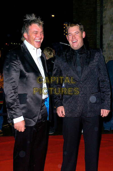 DARREN CLARKE & LEE WESTWOOD.Arrivals - Emeralds & Ivy Ball, The Roundhouse, .London, England, December 1st 2006..half length 3/4 golfers clark leigh.CAP/CAN.©Can Nguyen/Capital Pictures