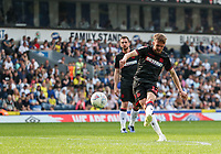 Bolton Wanderers' Craig Noone hits a free kick over the bar<br /> <br /> Photographer Andrew Kearns/CameraSport<br /> <br /> The EFL Sky Bet Championship - Blackburn Rovers v Bolton Wanderers - Monday 22nd April 2019 - Ewood Park - Blackburn<br /> <br /> World Copyright © 2019 CameraSport. All rights reserved. 43 Linden Ave. Countesthorpe. Leicester. England. LE8 5PG - Tel: +44 (0) 116 277 4147 - admin@camerasport.com - www.camerasport.com