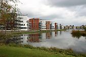 Drachten, 26 okt. 2004. Nieuwbouw Mevrouw De Rooweg.