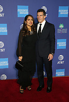 2 January 2020 - Palm Springs, California - Salma Hayek Pinault, Antonio Banderas. 2020 Annual Palm Springs International Film Festival Film Awards Gala  held at Palm Springs Convention Center. Photo Credit: FS/AdMedia