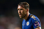 Leicester City FC defender Christian Fuchs reacts during the Premier League Asia Trophy match between Leicester City FC and West Bromwich Albion at Hong Kong Stadium on 19 July 2017, in Hong Kong, China. Photo by Yu Chun Christopher Wong / Power Sport Images