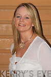 MAUREEN GARVEY.- CAHERCIVEEN.CELTIC MUSIC.FESTIVAL.Maureen works as a dispensary.assistant at Sam.McCauley's, and is starting a.Pharmaceutical Technician.course in October to further.a career as a dispensary.technician. The 23-year-old.enjoys going to the gym,.swimming, fitness, soccer,.football and hurling. She.likes singing on nights out,.Chinese food and Coronation.Street, and loves the.friendly atmosphere, sea and.mountains of her native.south Kerry. Maureen would.love to visit family in Australia,.and do volunteer.teaching and hospital work.in Africa or Asia. Her.favourite performers are.Westlife and Johnny Cash,.and she'd love to meet Ray.D'Arcy.