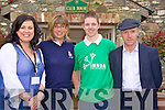 Regina Cunningham, IMNDA regional development co-ordinator, Sarah Newman, Shane Buckley and Cllr Michael Healy Rae enjoying the Irish Motor Neuron Golf Classic in Beaufort Golf Club on Friday.........