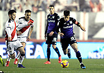 CD Leganes' Unai Bustinza and Rayo Vallecano's Alvaro Medran  during La Liga match. February, 04,2018. (ALTERPHOTOS/Alconada)