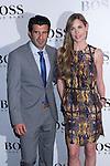 31.05.2012. Celebrities attend opening ceremony of the new BOSS Store Madrid Jorge Juan on the terrace of the Palacio de Cibeles. In the image Luis Figo and Helen Swedin (Alterphotos/Marta Gonzalez)