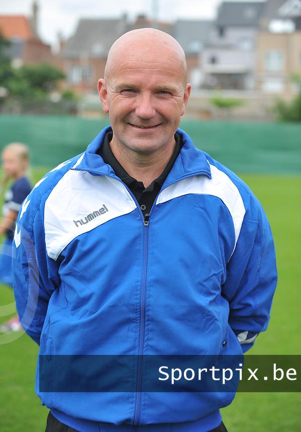 FC Utrecht Dames : Jurgen Schefczyk.foto DAVID CATRY / Vrouwenteam.be