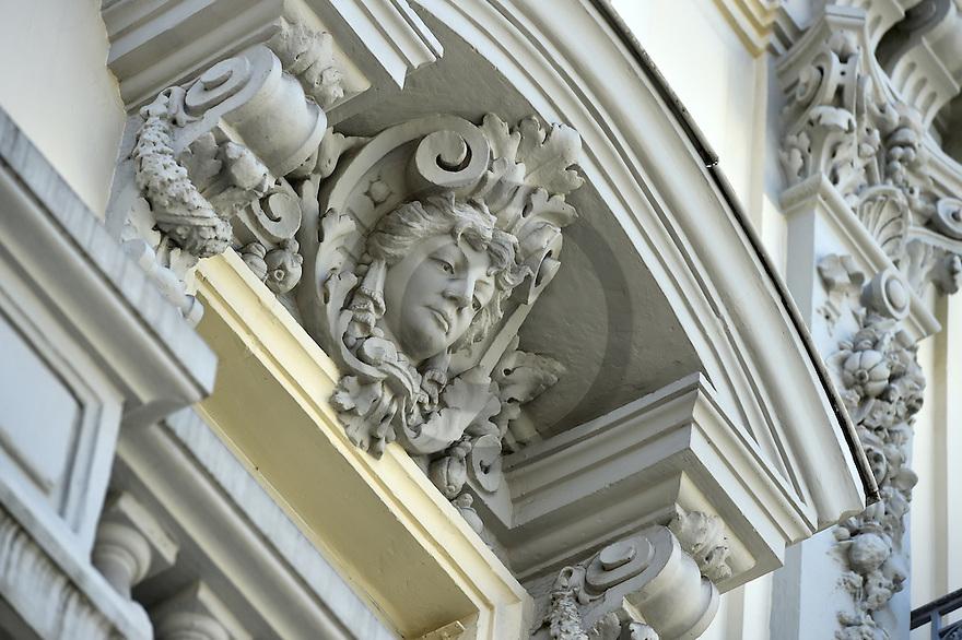 21/08/16 - AIX LES BAINS - SAVOIE - FRANCE - Architecture thermale a Aix les Bains - Photo Jerome CHABANNE