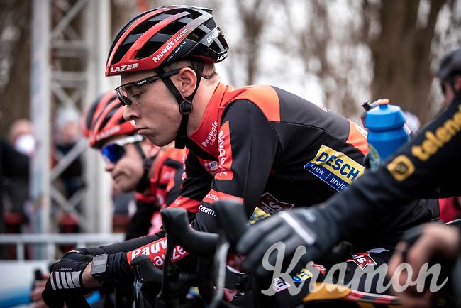 Laurens Sweeck (BEL/Pauwels Sauzen - Bingoal), pre race focus<br /> <br /> Elite Men's Race <br /> Belgian National CX Championships<br /> Antwerp 2020