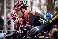 Laurens Sweeck (BEL/Pauwels Sauzen - Bingoal), pre race focus<br /> <br /> Elite Men's Race <br /> Belgian National CX Championships<br /> Antwerp 2020