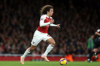 Matteo Guendouzi of Arsenal during Arsenal vs Wolverhampton Wanderers, Premier League Football at the Emirates Stadium on 11th November 2018