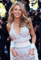 "Blake Lively attends the ""'Mr Turner'"" premiere - 67th Cannes Film Festival - France"
