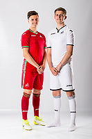 Keston Davies (R) and Jack Evans<br />