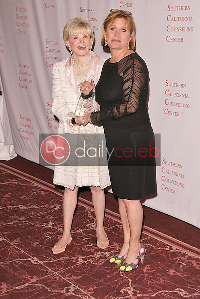 Judith Krantz and Carrie Fisher