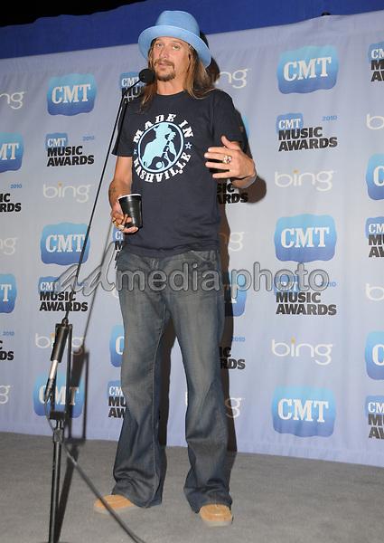 09 June 2010 - Nashville, Tennessee - Kid Rock.  2010 CMT Music Awards held at Bridgestone Arena. Photo Credit: George Shepherd/AdMedia