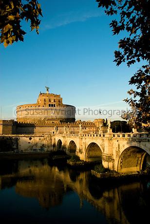 Castel Sant Angelo, Rome, Italy.