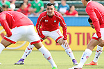 26 March 2016: Toluca's Antonio Rios (MEX). The Carolina RailHawks of the North American Soccer League hosted Deportivo Toluca Futbol Club of LigaMX at WakeMed Stadium in Cary, North Carolina in an international friendly club soccer match. Toluca won the game 3-0.