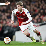 Nacho Monreal of Arsenal during the UEFA Europa League Quarter-Final 1st leg match at the Emirates Stadium, London. Picture date 5th April 2018. Picture credit should read: Charlie Forgham-Bailey/Sportimage
