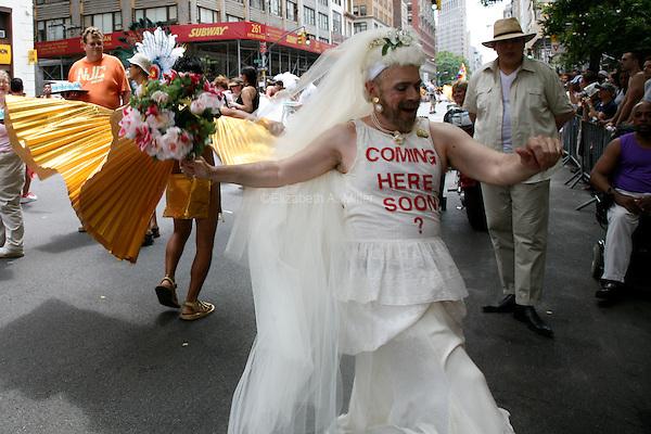 The 2008 LGTB Pride Parade.
