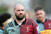 Matt Symons of Harlequins looks on after the match. Gallagher Premiership match, between Harlequins and Gloucester Rugby on March 10, 2019 at the Twickenham Stoop in London, England. Photo by: Patrick Khachfe / JMP