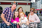 At the Rose Parade on Sunday were Ollie Lyons, Tara Lyons, Emily Lyons, Bernie Lyons and Eileen Egan