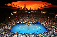 MELBOURNE,AUSTRALIA,25.JAN.18 - TENNIS - ATP World Tour, Grand Slam, Australian Open. Image shows Rod Laver Arena. Photo: GEPA pictures/ Matthias Hauer / Copyright : explorer-media