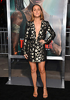 Camilla Luddington at the US premiere for &quot;Tomb Raider&quot; at the TCL Chinese Theatre, Los Angeles, USA 12 March 2018<br /> Picture: Paul Smith/Featureflash/SilverHub 0208 004 5359 sales@silverhubmedia.com