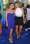 Kourtney Kardashian and Kim Kardashian at The Fox 2011 Teen Choice Awards held at Gibson Ampitheatre in Universal City, California on August 07,2010                                                                               © 2011 Hollywood Press Agency