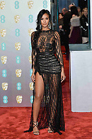LONDON, UK - FEBRUARY 10: Maya Jama at the 72nd British Academy Film Awards held at Albert Hall on February 10, 2019 in London, United Kingdom. Photo: imageSPACE/MediaPunch<br /> CAP/MPI/IS<br /> ©IS/MPI/Capital Pictures