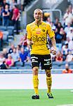 Stockholm 2014-07-07 Fotboll Allsvenskan Djurg&aring;rdens IF - IF Elfsborg :  <br /> Elfsborgs Sebastian Holm&eacute;n reagerar<br /> (Foto: Kenta J&ouml;nsson) Nyckelord:  Djurg&aring;rden DIF Tele2 Arena Elfsborg IFE portr&auml;tt portrait