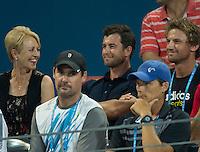 Tennis - Brisbane International 2015 - ATP 250 - WTA -  Queensland Tennis Centre - Brisbane - Queensland - Australia  - 6 January 2015. <br /> &copy; Tennis Photo Network