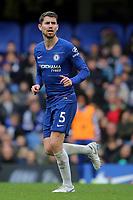 Jorginho of Chelsea during Chelsea vs Fulham, Premier League Football at Stamford Bridge on 2nd December 2018