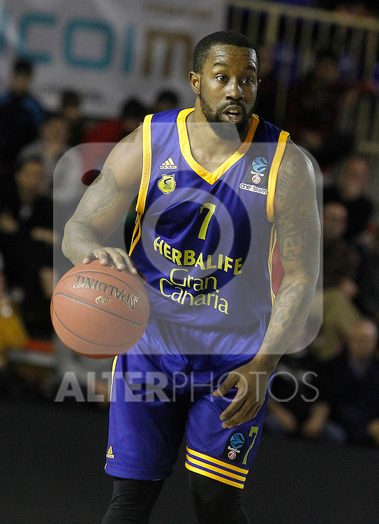 Herbalife Gran Canaria's Bo McCalebb during Eurocup, Top 16, Round 2 match. January 10, 2017. (ALTERPHOTOS/Acero)
