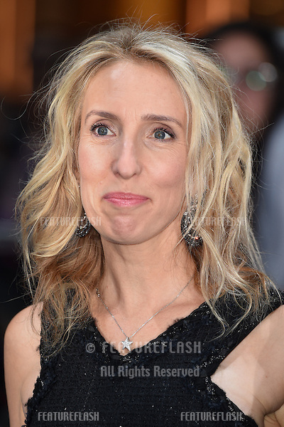 "Sam Taylor Johnson arrives for the ""Avengers: Age of Ultron"" European premiere at the Vue cinema, Westfield London. 21/04/2015 Picture by: Steve Vas / Featureflash"