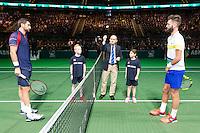 ABN AMRO World Tennis Tournament, Rotterdam, The Netherlands, 14 februari, 2017, Marin Cilic (CRO), Benoit Paire (FRA)<br /> Photo: Henk Koster