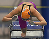 Jessica Whang of Great Neck South dives into the water at the start of the 100-yard breaststroke event during the Nassau County girls swimming championships and state qualifier meet at Nassau Aquatic Center in East Meadow on Saturday, Nov. 3, 2018. She won the event with a time of 1:03.09.
