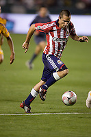 Chivas USA midfielder Bojan Stepanovic moves with the ball. Los Tigres de UANL defeated the Chivas USA 2-1 during a 2009 SuperLiga match at Home Depot Center stadium in Carson, California on Saturday evening June 20, 2009.   .