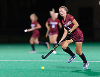 Stanford, California - September 14, 2018: The Stanford Cardinal Field Hockey team defeats Yale 5-0 at Varsity Turf in Stanford, California.
