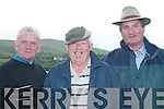 Enjoying the Craic: Having a great day out at the annual harness racing event in Camp on Sunday were Donny OMahony, Ballyduff, Gabe OConnor and Michael Dillane, Asdee..