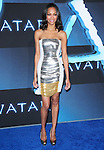 Zoe Saldana at The Twentieth Century Fox World Premiere of Avatar held at The Grauman's Chinese Theatre in Hollywood, California on December 16,2009                                                                   Copyright 2009 DVS / RockinExposures